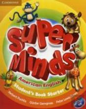 Super Minds American English Starter Student'S Book With Dvd-Rom