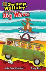 Swamp Wallaby And The Big Wave
