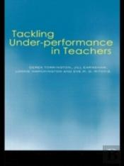 Tackling Problems Of Poor Teacher Performance