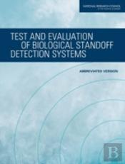 Test And Evaluation Of Biological Standoff Detection Systems