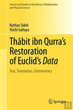 Bertrand.pt - Thabit Ibn Qurra'S Restoration Of Euclid'S Data