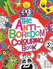 The Anti-Boredom Colouring Book