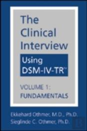 The Clinical Interview Using Dsm-Iv-Tr