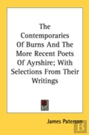 The Contemporaries Of Burns And The More