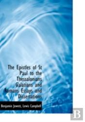 The Epistles Of St  Paul To The Thessalo