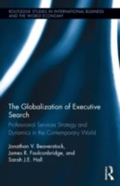 The Globalization Of The Executive Search Industry