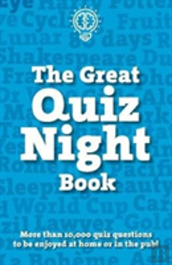 Bertrand.pt - The Great Quiz Night Book