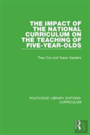 The Impact Of The National Curricul
