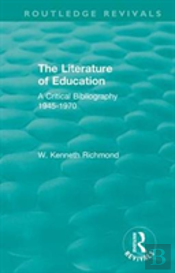The Literature Of Education