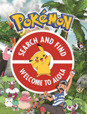 The Official Pokemon Search And Find: Guardians Of Alola