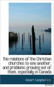 The Relations Of The Christian Churches