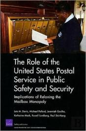 The Role Of The United States Postal Service In Public Safety And Security