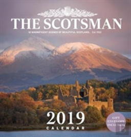 The Scotsman Wall Calendar 2019
