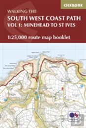 The South West Coast Path Map Booklet - Minehead To St Ives