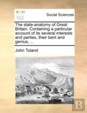 The State-Anatomy Of Great Britain. Cont