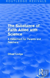 The Substance Of Faith Rev Rpd