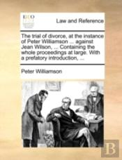 The Trial Of Divorce, At The Instance Of