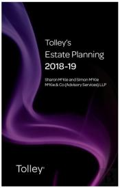 Tolley'S Estate Planning 2018-19