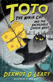 Toto The Ninja Cat Incredible Cheese H