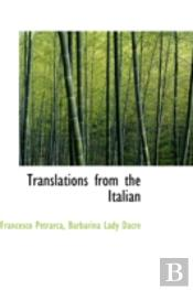 Translations From The Italian