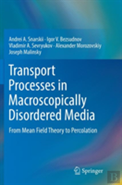 Bertrand.pt - Transport Processes In Macroscopically Disordered Media