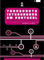 Transporte Interurbano em Portugal - 2 Volumes