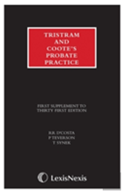 Tristram And Coote'S Probate Practice