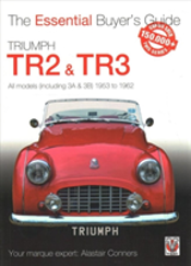Triumph Tr2, & Tr3 - All Models (Including 3a & 3b) 1953 To 1962