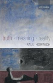 Truth - Meaning - Reality