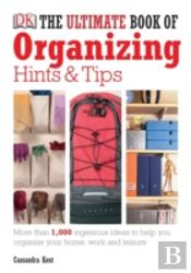 Ultimate Book Of Organising Hints And Tips