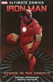 Ultimate Comics Iron Man Demon In The Ar