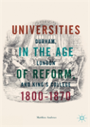 Universities In The Age Of Reform, 1800-1870