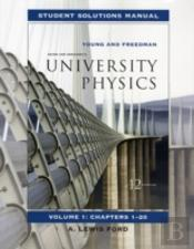 University Physicsstudent Solutions Manual