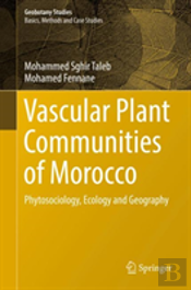 Vascular Plant Communities Of Morocco