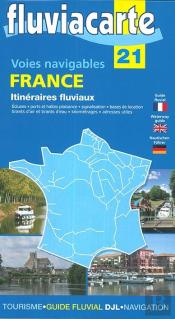 Voies Navigables - France Itineraires Fluviaux - 21 - Carte