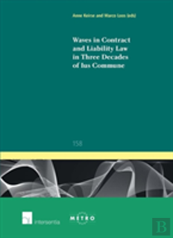 Bertrand.pt - Waves In Contract And Liability Law In Three Decades Of Ius Commune