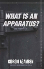 'What Is An Apparatus?' And Other Essays