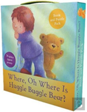 Where, Oh Where Is Huggle Buggle Bear? Book And Puzzle Pack