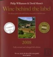 WINE BEHIND THE LABEL 2008