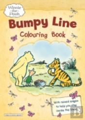 Winnie-The-Pooh Bumpy Line Colouring Book
