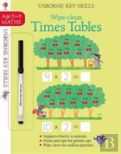 Wipe-Clean Times Tables 5-6