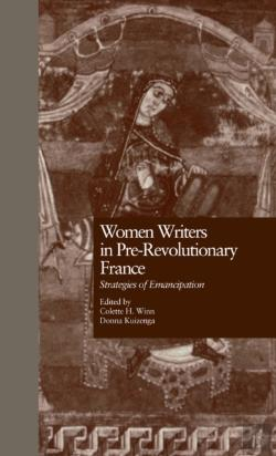 Bertrand.pt - Women Writers In Pre-Revolutionary France