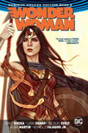 Wonder Woman The Rebirth Deluxe Edition Book 2