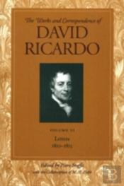 Works And Correspondence Of David Ricardoletters, 1810-1815